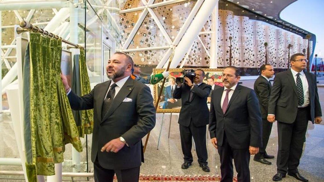 العاهل المغربي محمد السادس يفتتح المحطة الجديدة في مطار مراكش الدولي