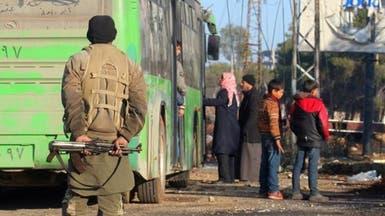 سوريا.. استمرار تدفق المركبات إلى خارج حلب