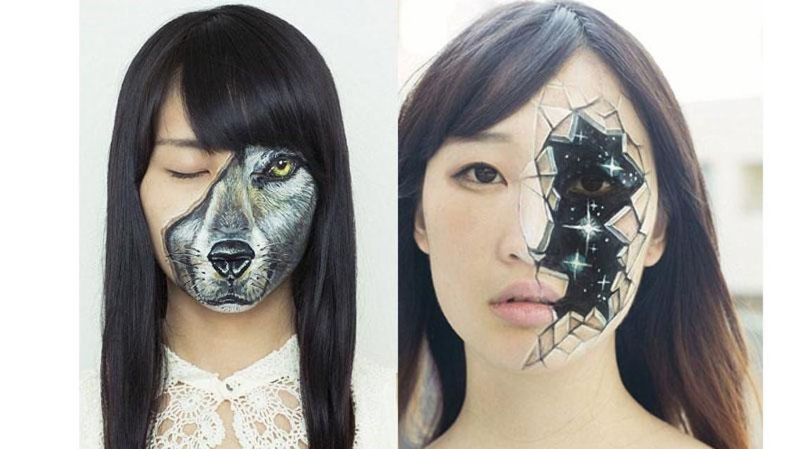 فنانة يابانية تحول أجساد النساء إلى حيوانات وروبوتات وحشرات