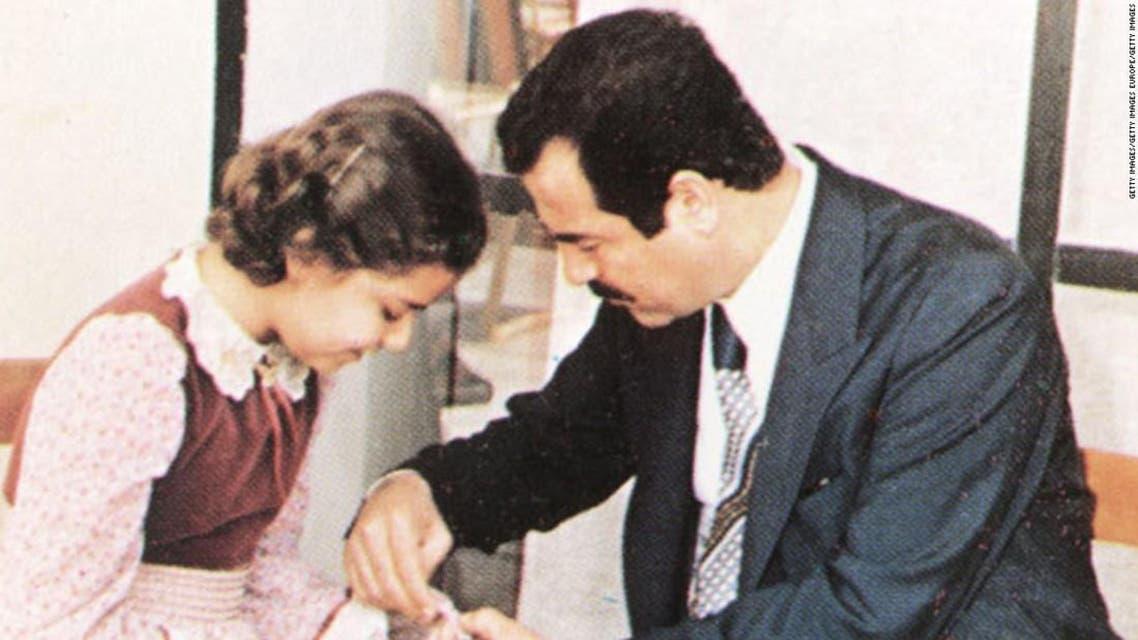 صدام حسين واسرته