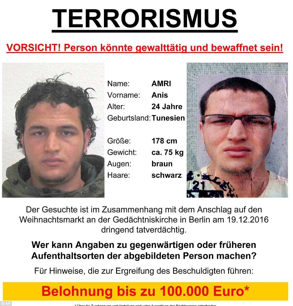 All you need to know about the Berlin attack suspect - Al Arabiya ...