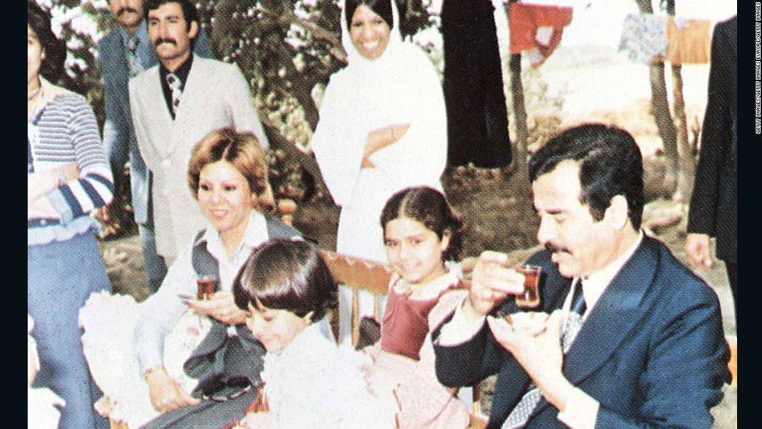 صدام حسين و اعضای خانوادهاش