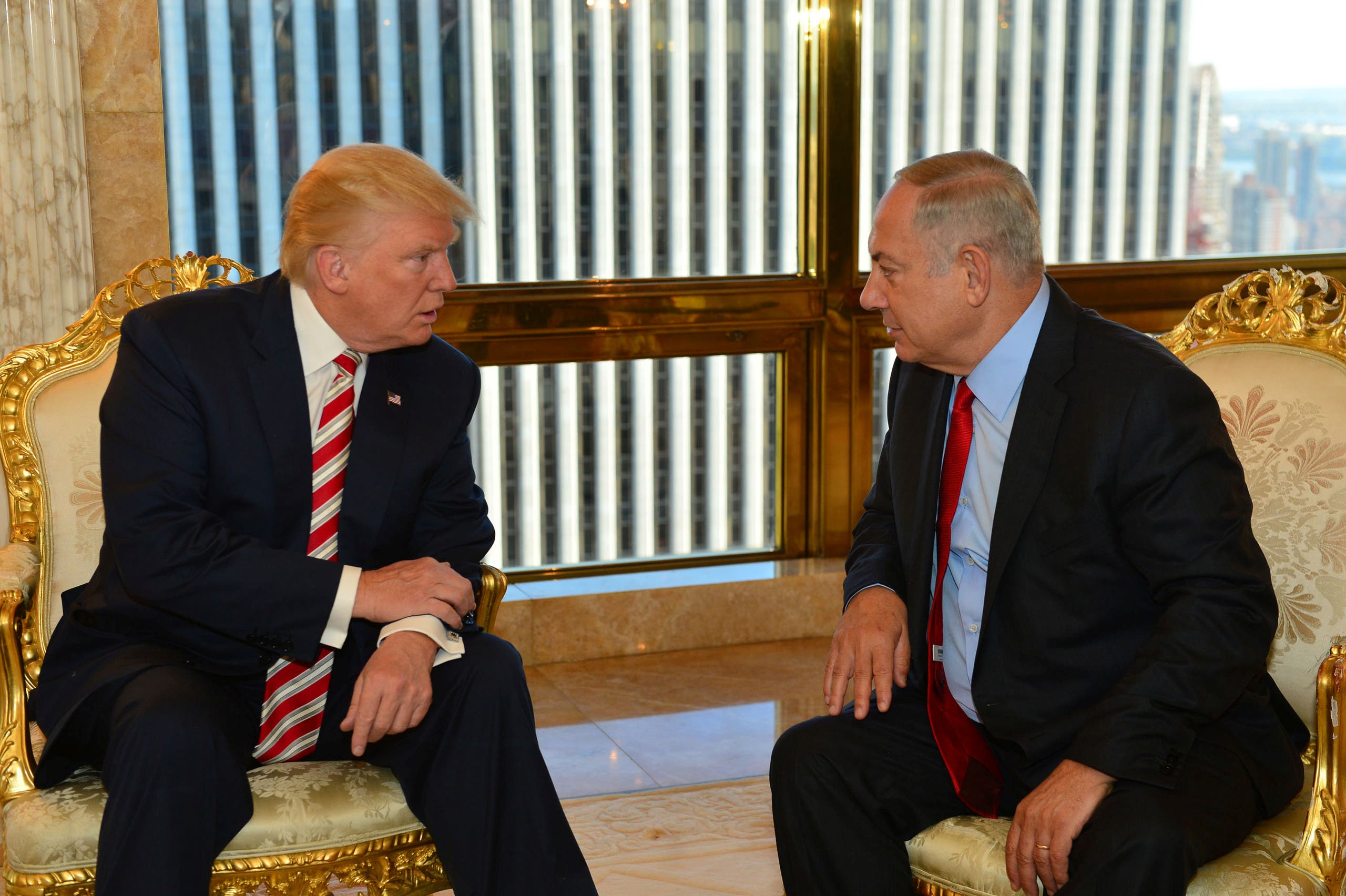 Israel asked President-elect Donald Trump to apply pressure to avert United Nations approval of a resolution demanding an end to settlement building, an official said. (AFP)