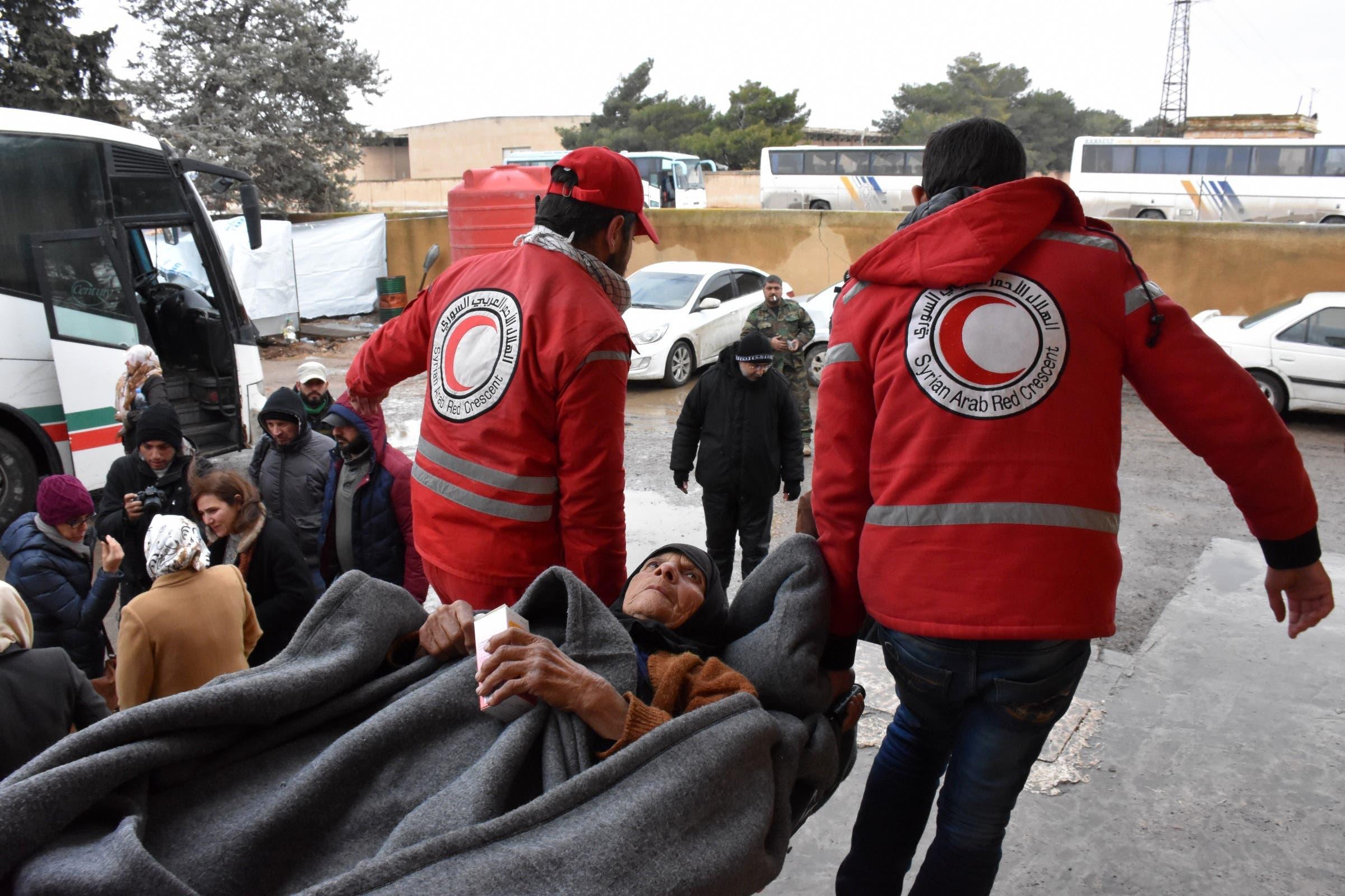 إجلاء مدنيين من حلب