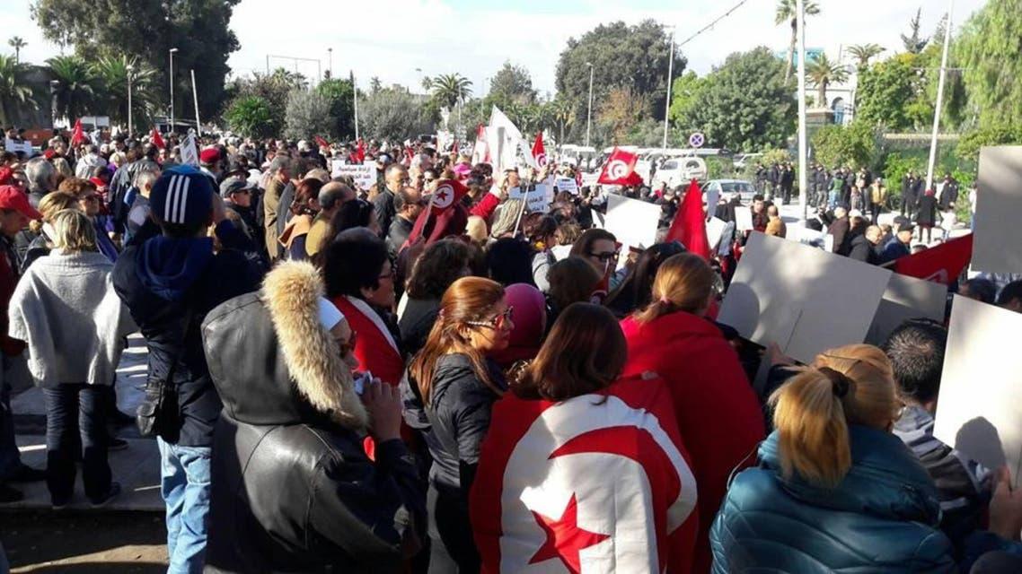 مسيرة شعبية اليوم أمام البرلمان التونسي منددة بعودة الارهابيين