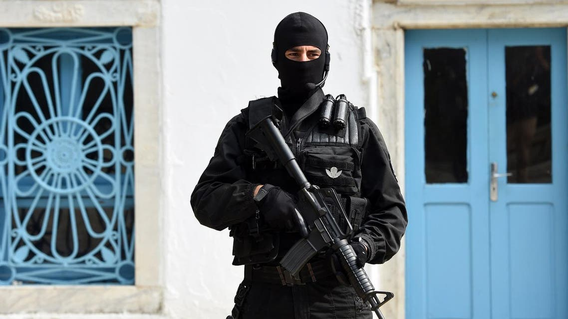 Tunisian special forces AFP