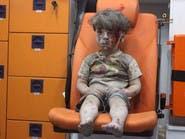 """""""هول الموت"""" والدمار.. في عيون أطفال سوريا"""
