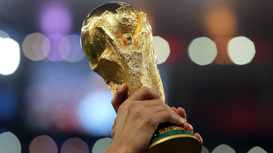 world cup trophy shutterstock