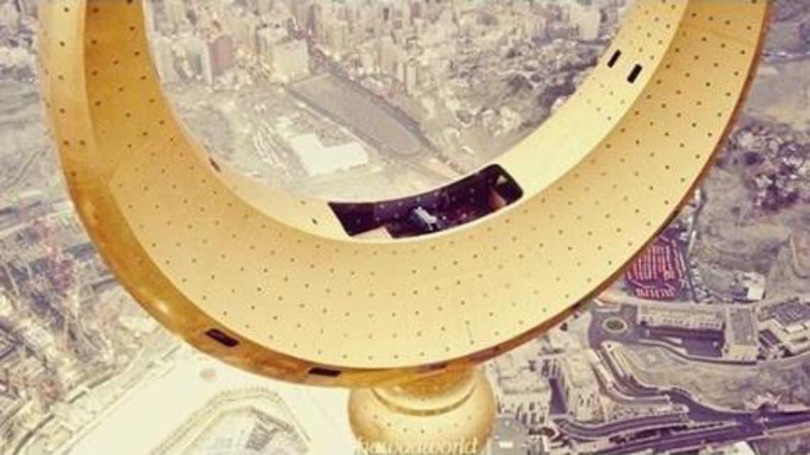 Highest Muslim prayer room located in Saudi Arabia's Royal Clock Tower