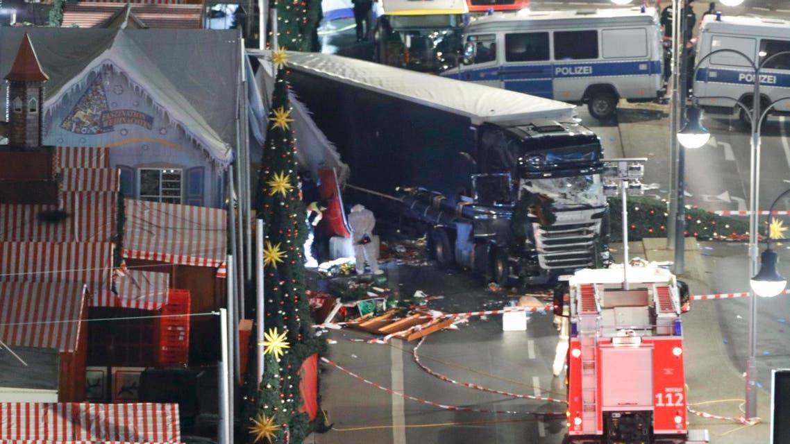من حادث دهس برلين