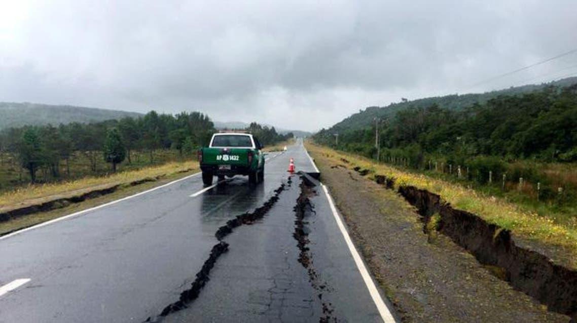 زلزال تشيلي