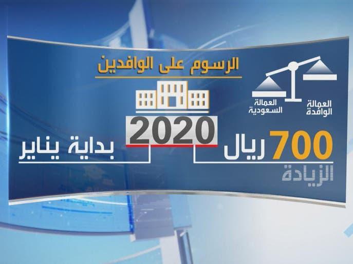بالأرقام.. الرسوم على الوافدين في السعودية