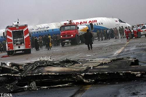 سانحه توپولوف در پرواز مشهد