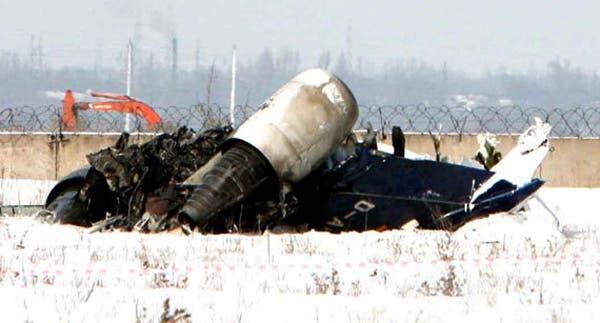 لاشه یک فروند توپولوف از آلماتای به سیمفرپول اوکراین در حال پرواز بود