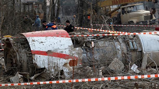 لاشه هواپیمای رئیسجمهوری لهستان