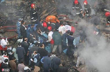 سقوط یک فروند توپولوف در نزدیکی فرودگاه خرم آباد