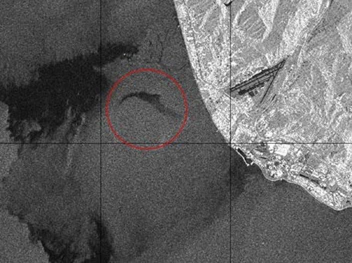 أول صورة لموقع تحطم الطائرة الروسية توبوليف 154