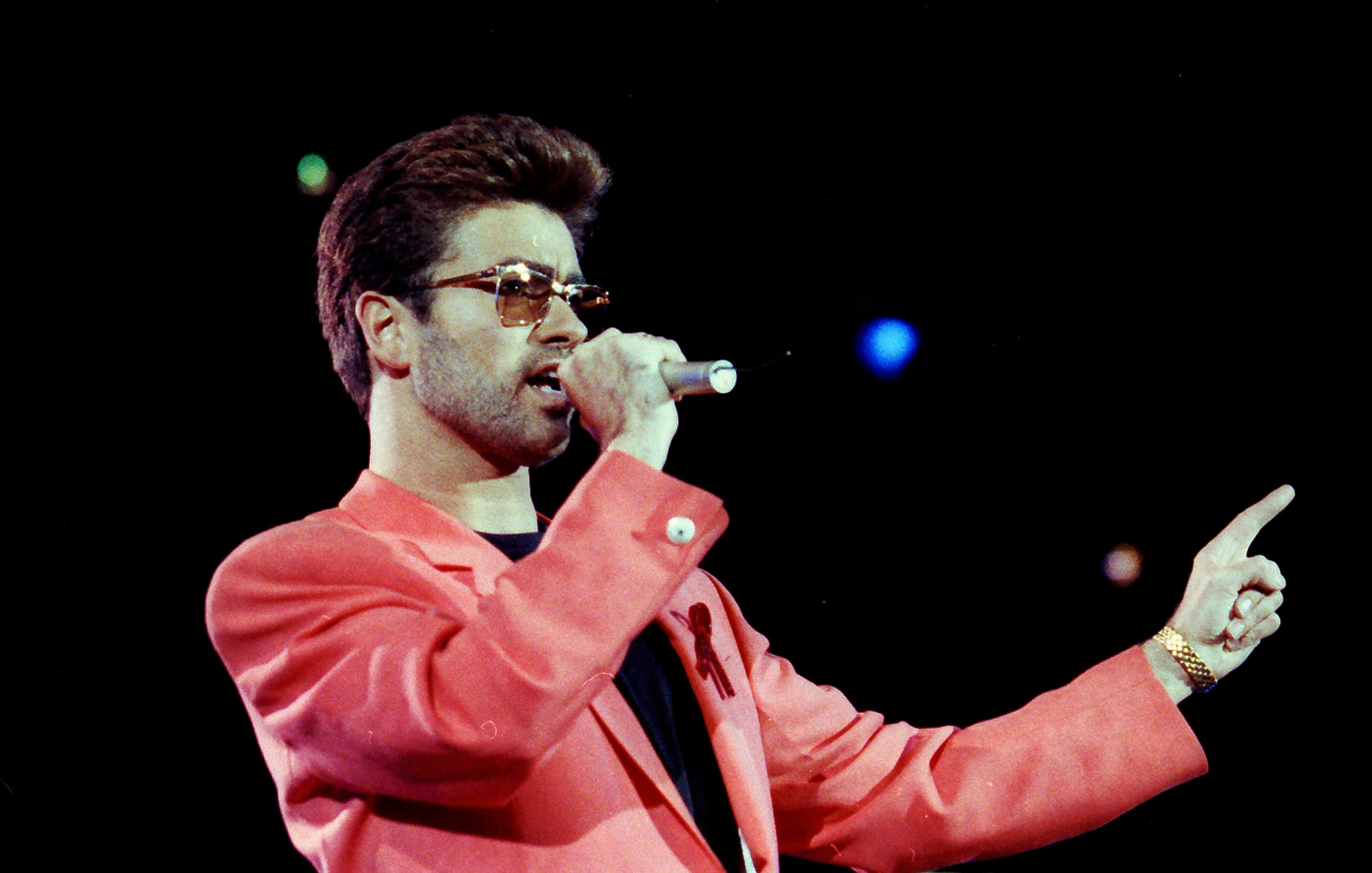جورج مايكل في شبابه