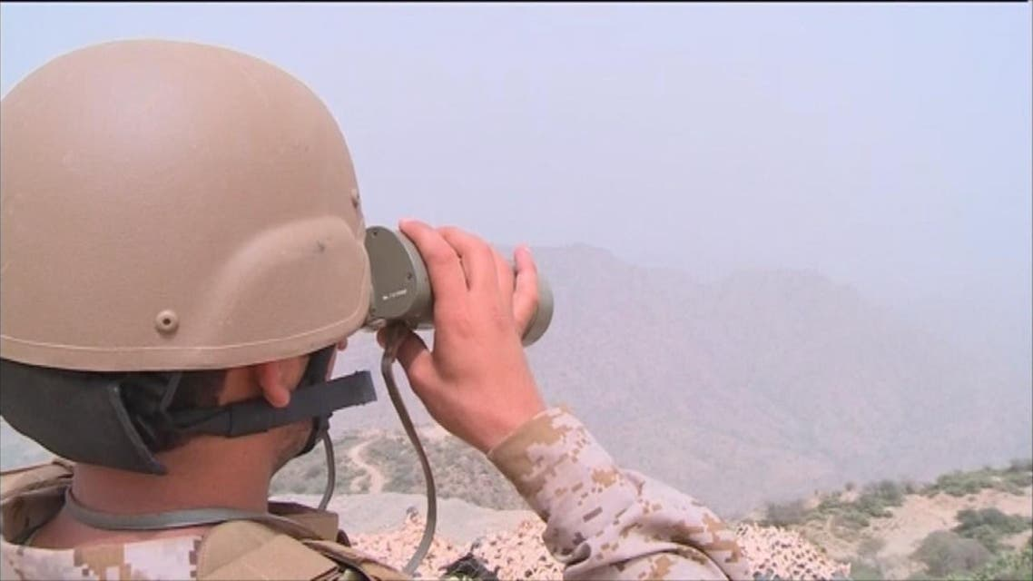 THUMBNAIL_ القوات السعودية تتعامل مع مقذوفات اطلقت من اليمن