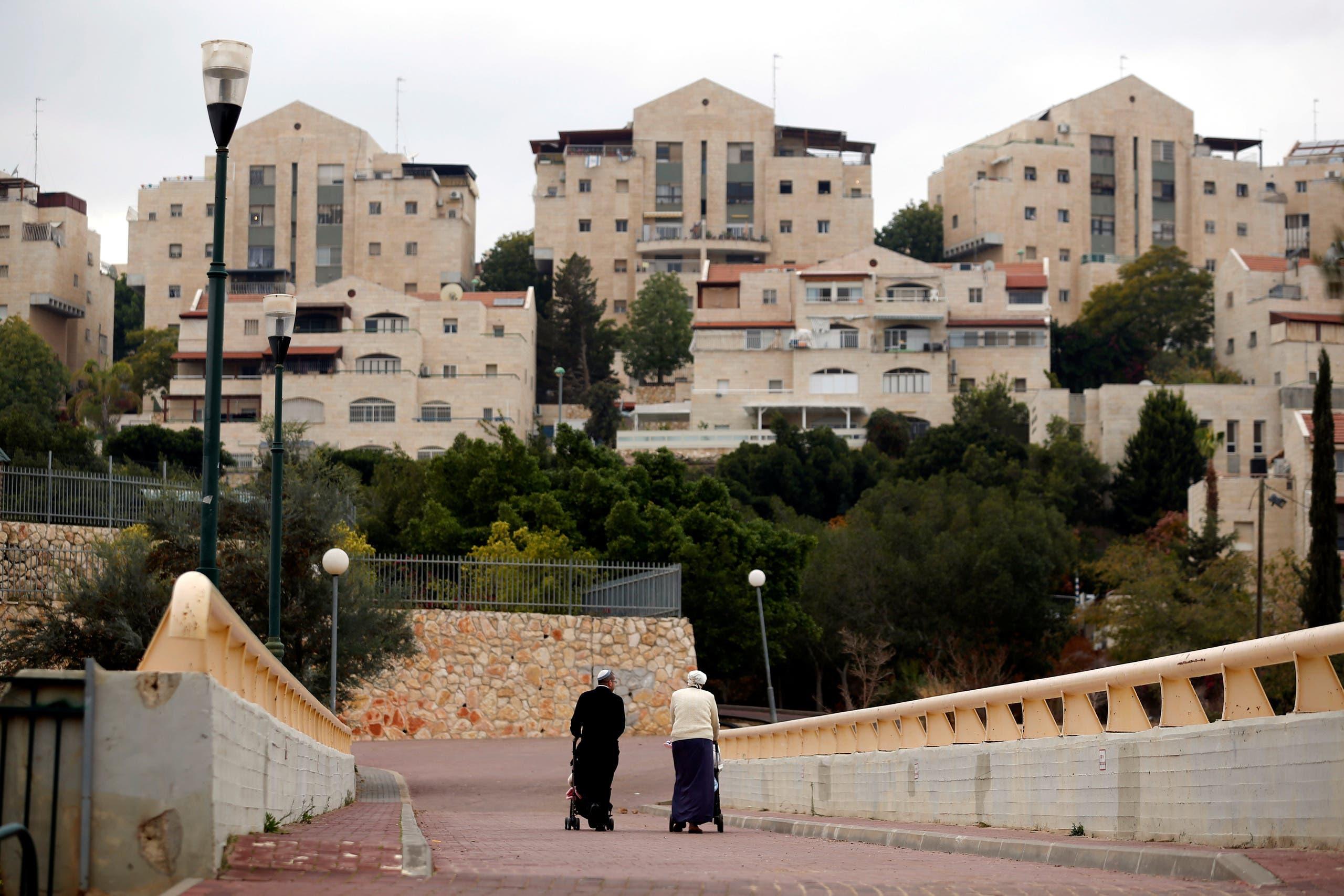 في معاليه أدوميم إحدى كبريات المستوطنات بالضفة