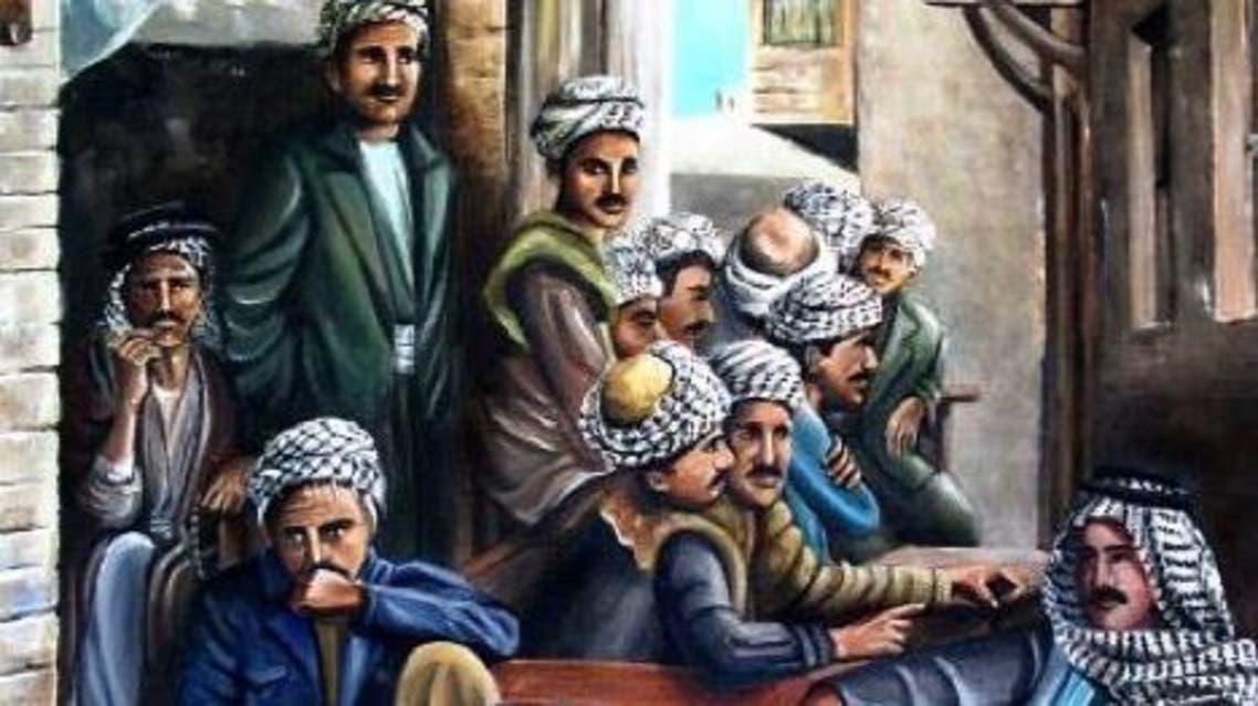 الفنانة نادية آوسي.. ترسم بحنينها شوارع بغداد العتيقة