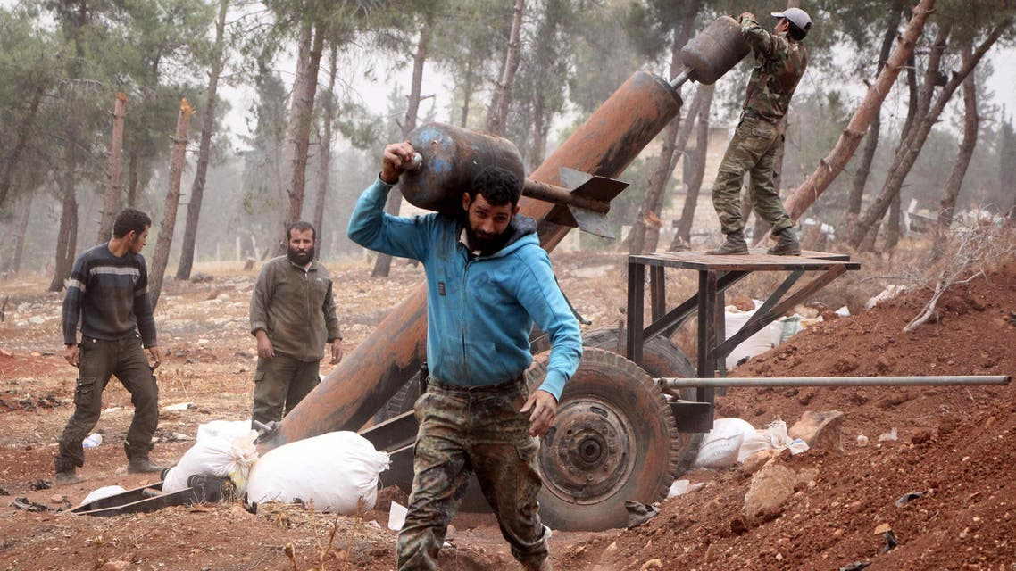 The US State Department said on Tuesday the United States was not providing any shoulder-fired anti-aircraft missiles to the Syrian opposition. (AFP)