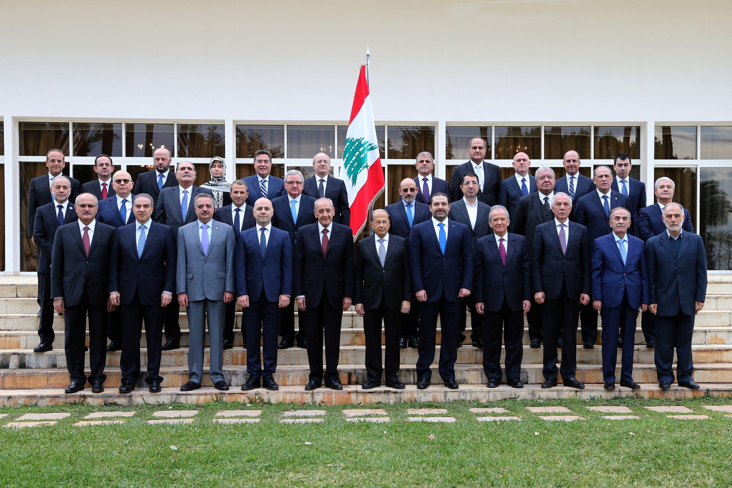 الحكومة اللبنانية الجديدة
