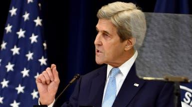 كيري: الاستيطان يهدد آمال الفلسطينيين والإسرائيليين معا