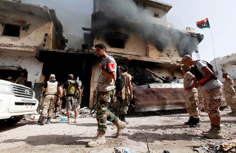 Utter destruction, not in Aleppo… it's in Libya's Sirte AFP