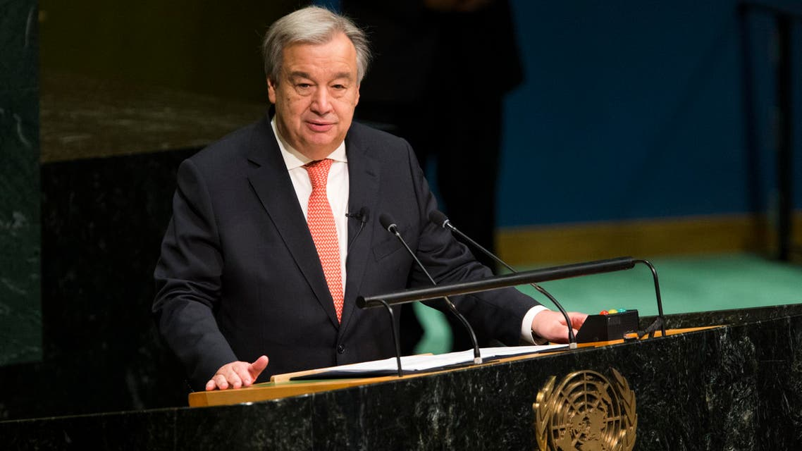 Guterres, who met with Russian President Vladimir Putin at the end of last month, said he hoped for a similar outcome with the American President-elect. (AFP)
