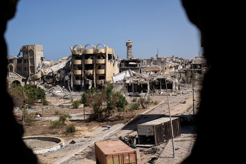Utter destruction, not in Aleppo… it's in Libya's Sirte reuters