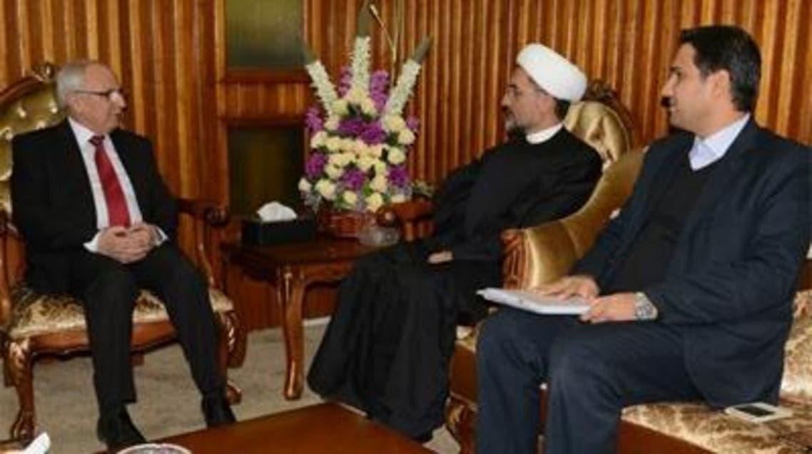 لقاء وزير التعليم العراقي مع المستشار الثقافي الايراني