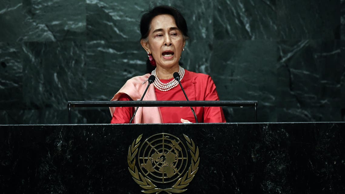 They also criticized the country's leader Aung San Suu Kyi – herself a Nobel Peace Prize winner – for what they called a lack of initiative to protect the Rohingyas. (AFP)