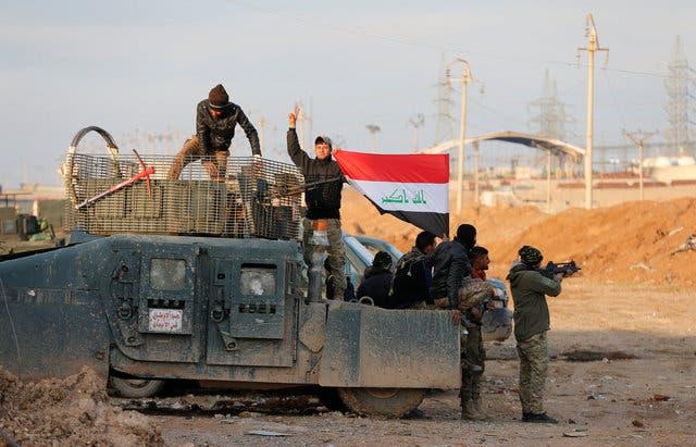 القوات العراقية في حي القدس شرق الموصل(أرشيفية)