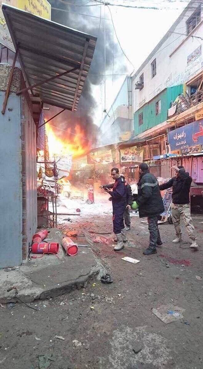 تفجير في السنك ببغداد
