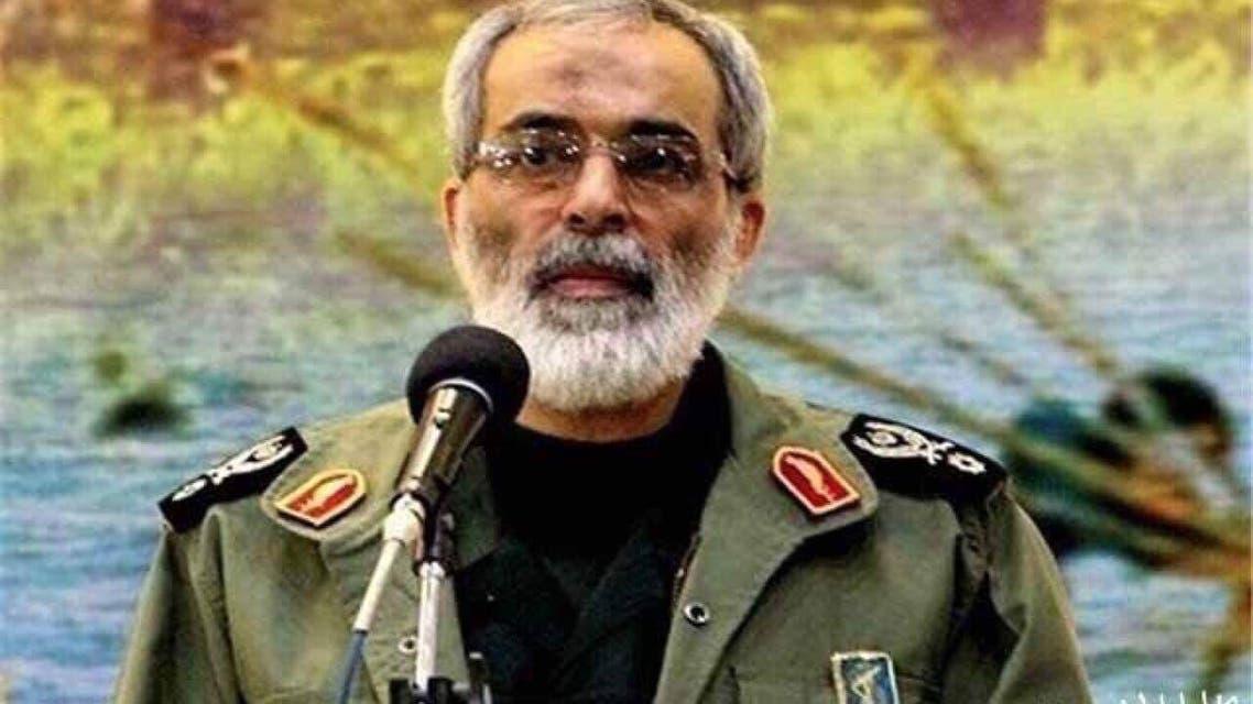 حسين نجات معاون جهاز استخبارات الحرس الثوري