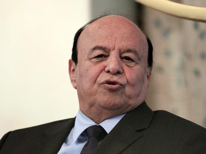هادي: ميليشيا الحوثي ترفض السلام وتعتبر الحرب مشروع استثمار