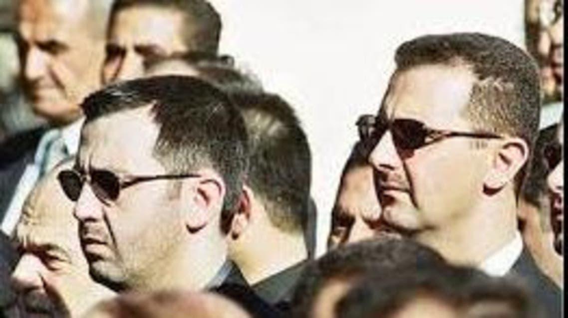 بشار الأسد وشقيقه اللواء ماهر الأسد