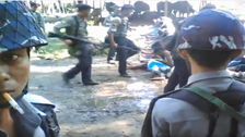 فيديو يكشف تعذيبا وحشيا لجيش ميانمار ضد مسلمي الروهينغا