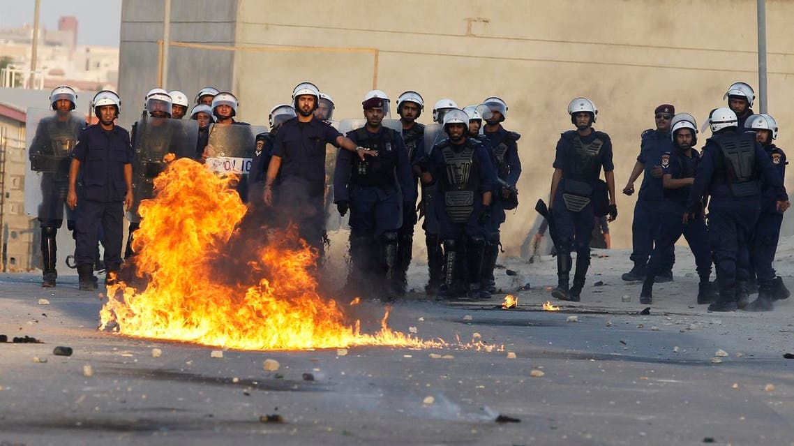 bahrain police reuters