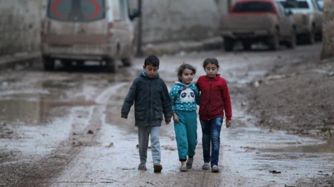 أطفال من داخل حلب 3