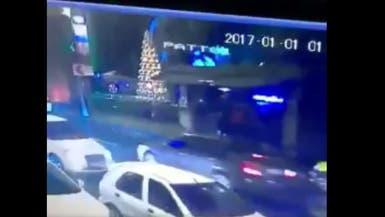 شاهد لحظة هروب المهاجم بعد ارتكابه مجزرة في اسطنبول