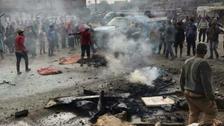 عراق : بغداد میں داعش کا کار بم دھماکا ، 32 افراد ہلاک