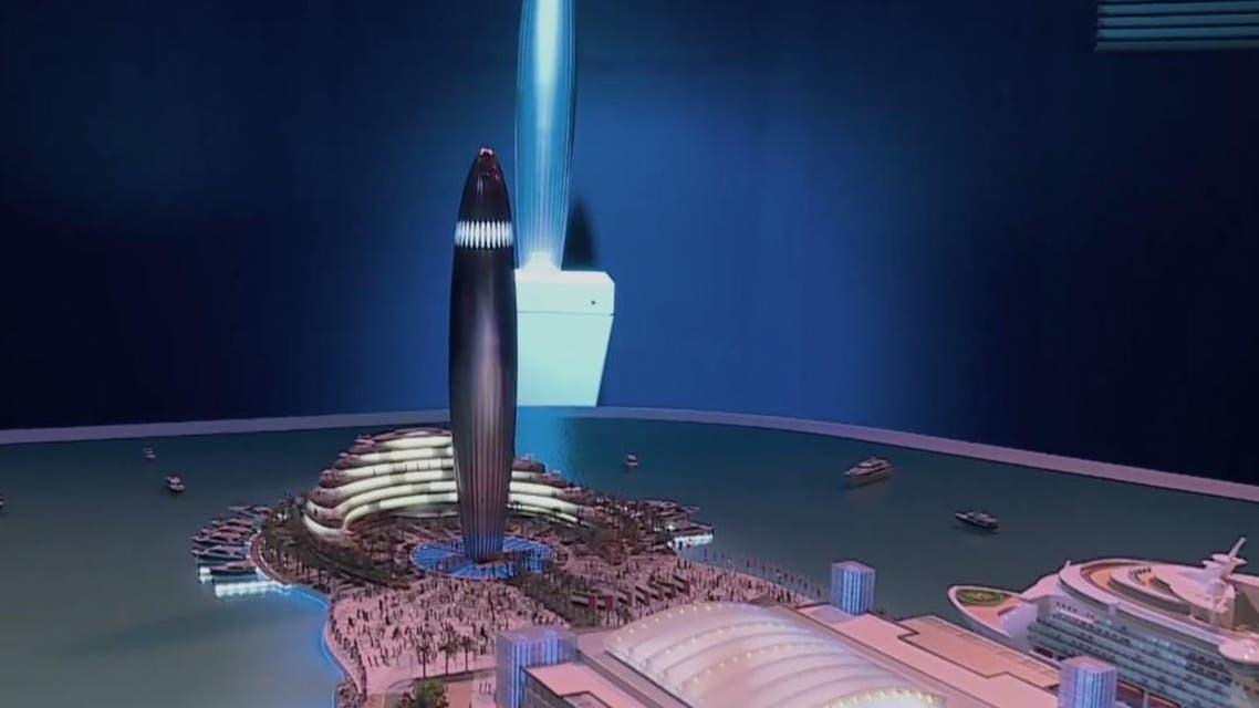 Dubai Harbour: Screengrab Dubai Media Office