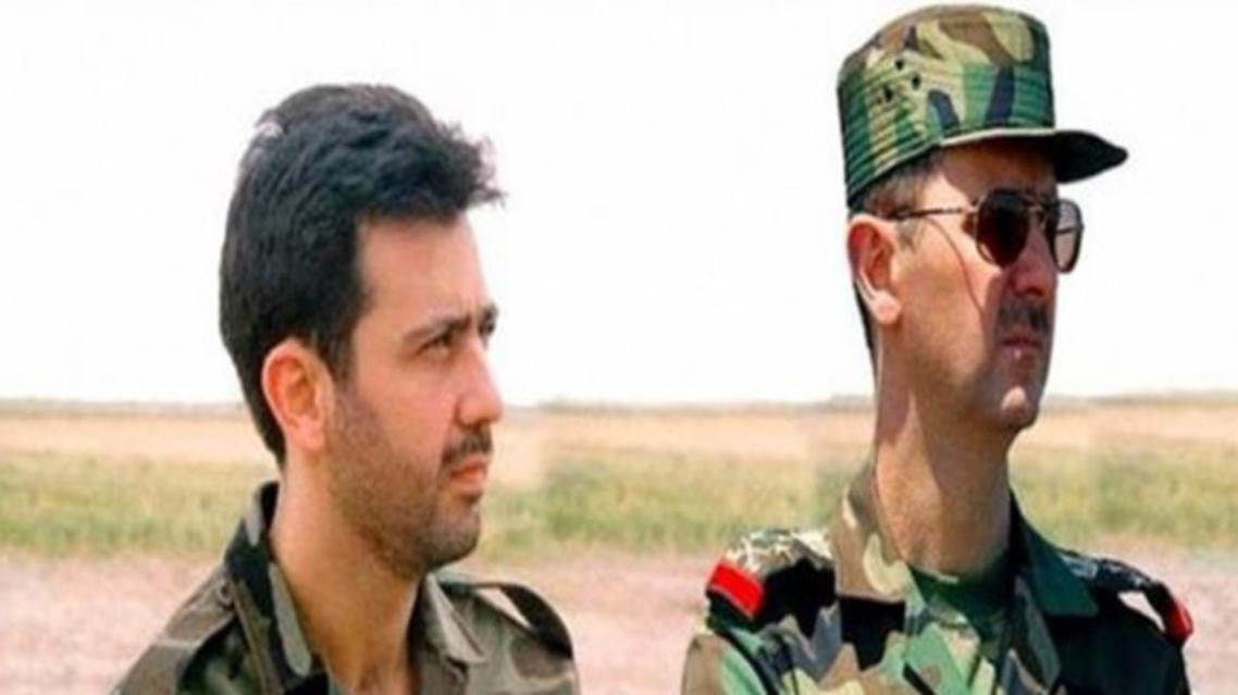 بشار الأسد مع شقيقه ماهر