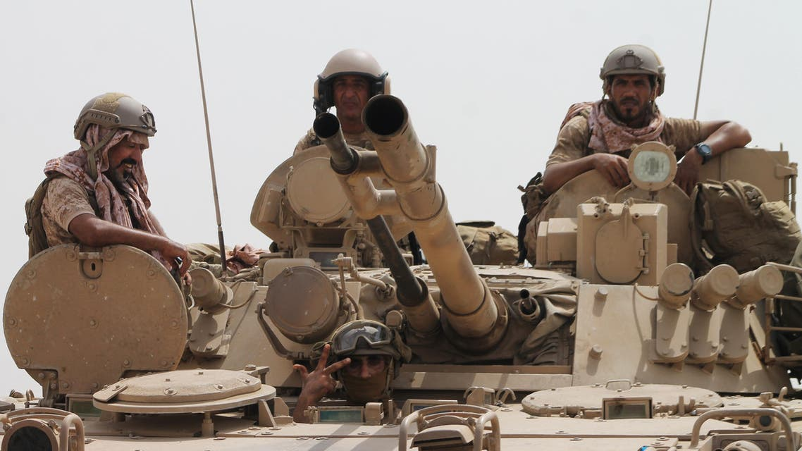 Sixteen Yemeni pro-government fighters were killed on Tuesday in separate clashes with Houthi militias and Al-Qaeda fighters in the south of the war-torn country. (AFP)