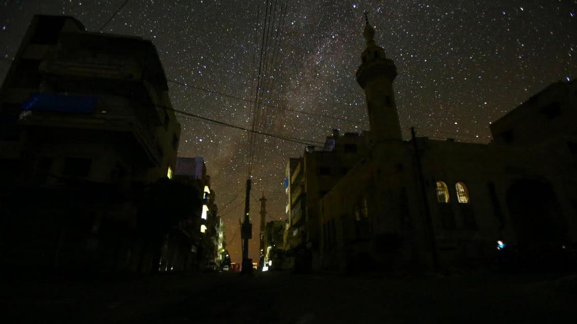 Starry nights and empty streets in syria