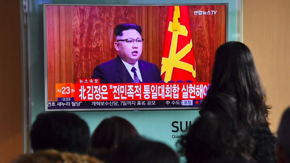 """Trump's tweet came a day after North Korean leader Kim Jong-Un appeared to try to pressure the incoming president by announcing his country is in the """"final stages"""" of developing an intercontinental ballistic missile. (AFP)"""