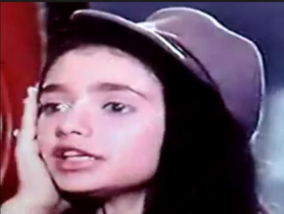 صورة لليلي  علوي في سنة الثالثة عشرة