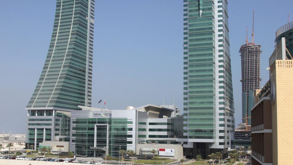 Bahrain Financial Harbor office buildings. AP